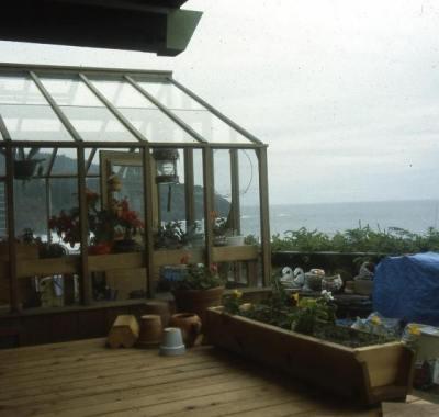 Ocean greenhouse designed for wind