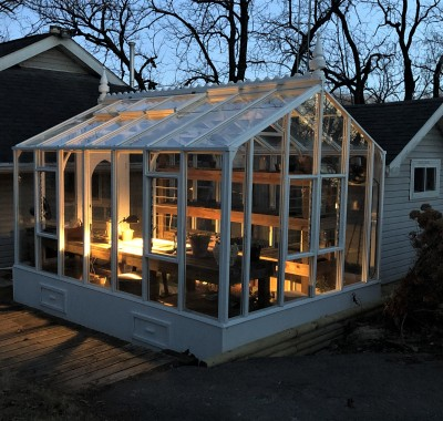 9x16 Garden Deluxe with Ridge Scallop and additional Finial