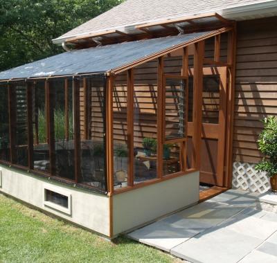 8x12 Garden Sunroom Lean-to