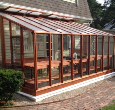 8x16 Garden Sunroom Lean-to