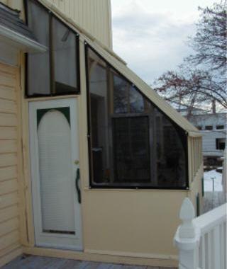 Custom Tudor Lean-to Greenhouse