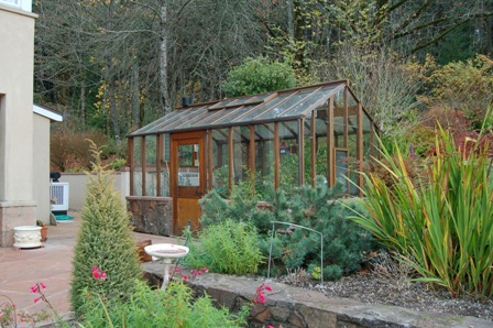 Custom Greenhouse-increased height