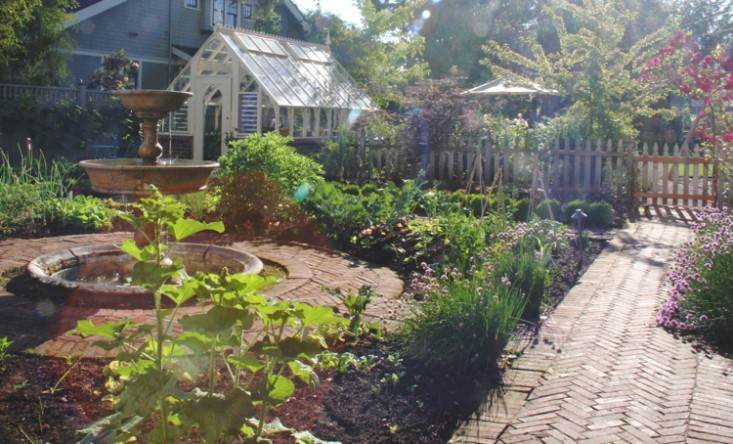 Greenhouse designed for garden