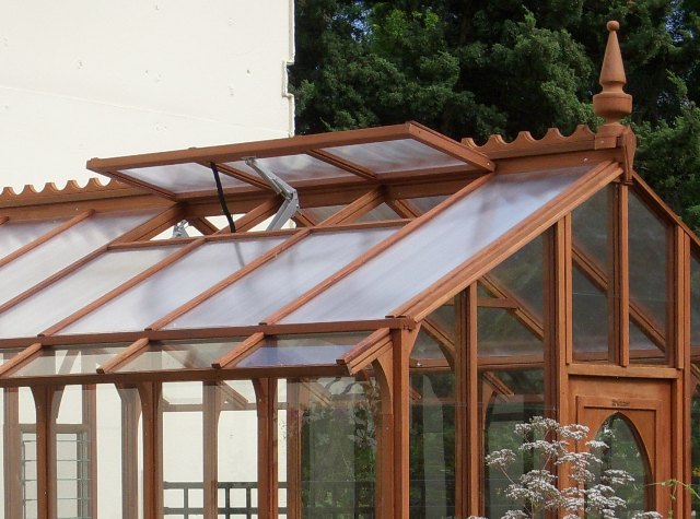 Solar vent openers are popular greenhouse accessories