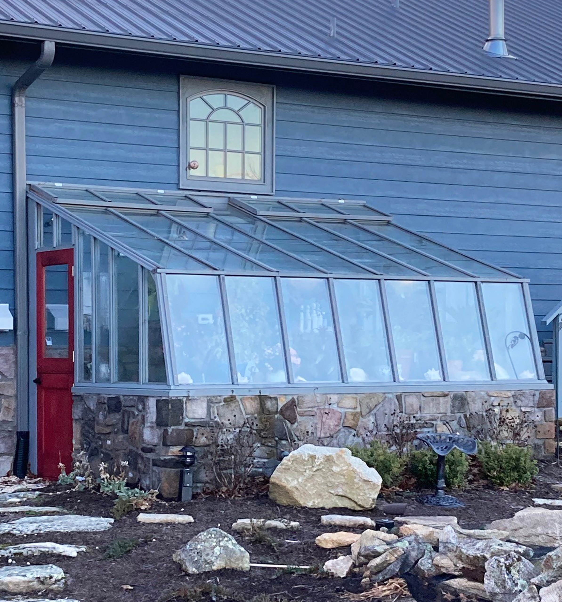 Tropic Lean-to Greenhouse