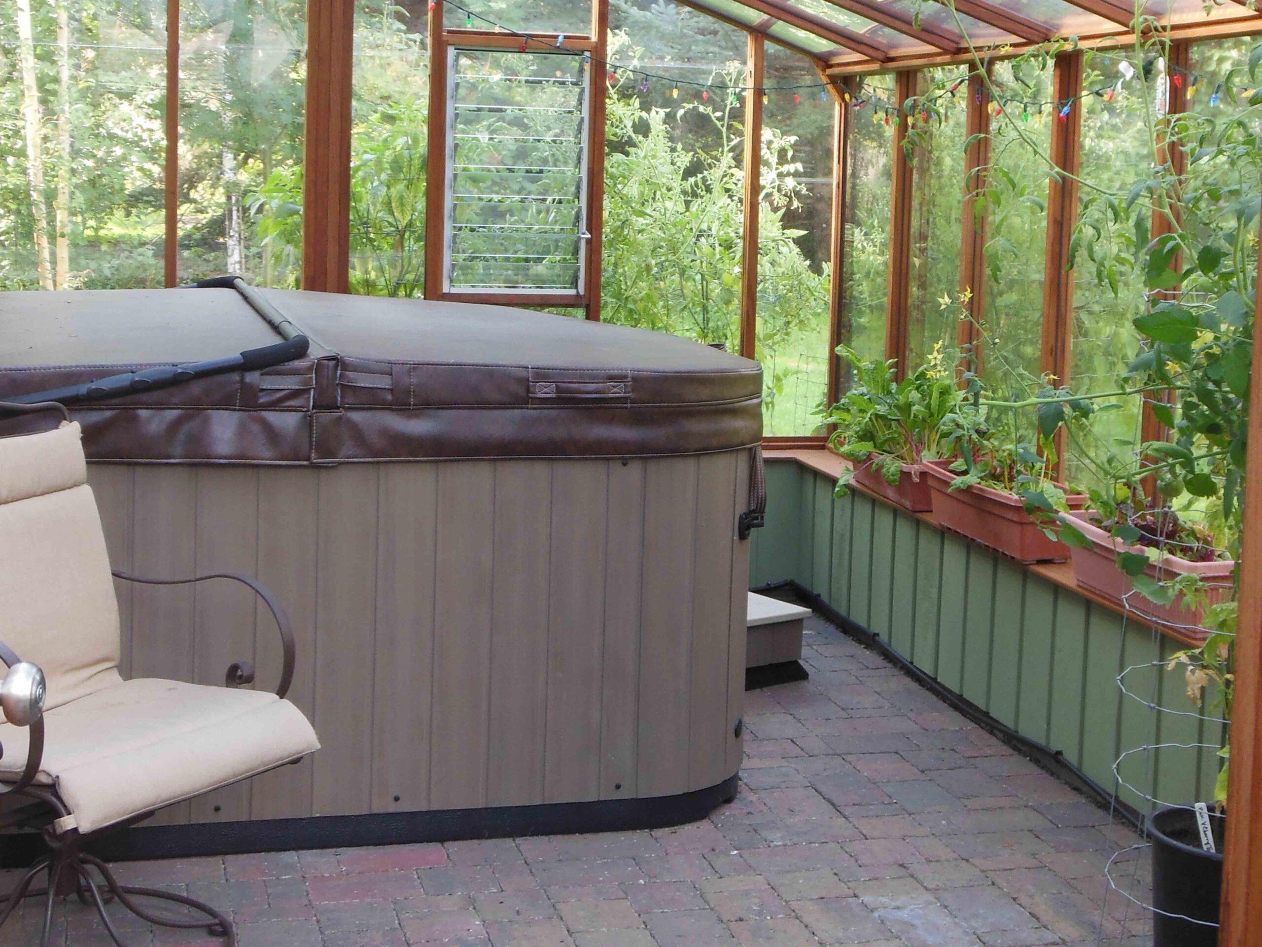 Inside Sturdi-Built Greenhouse