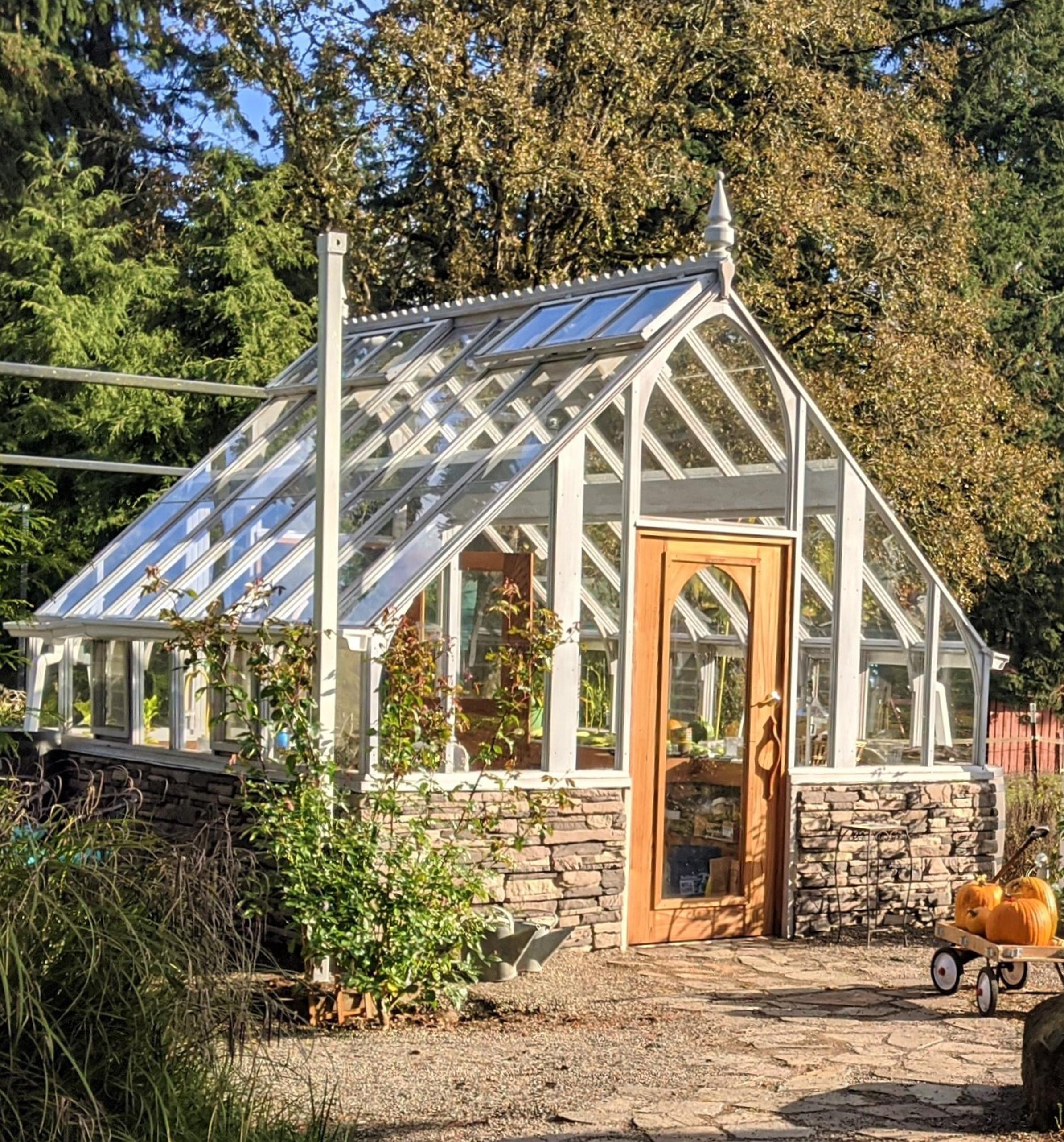Sturdi-Built Tudor Greenhouse